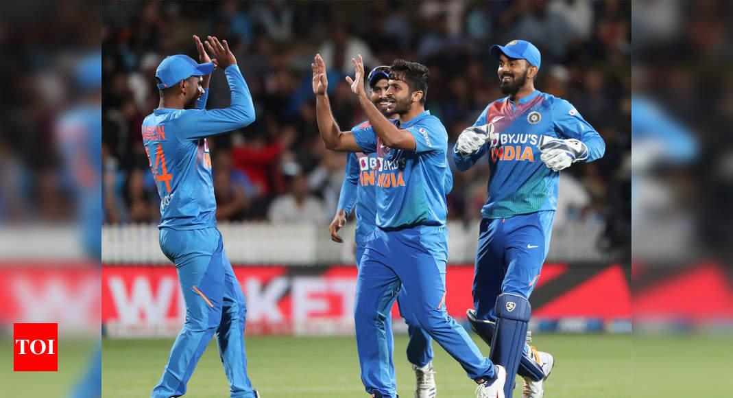 India Vs New Zealand 5th T20i