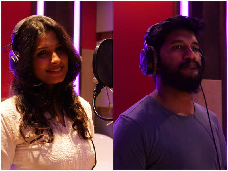 Vijay Yesudas and Anne Amie croon the title song of 'Neeyum Njanum'