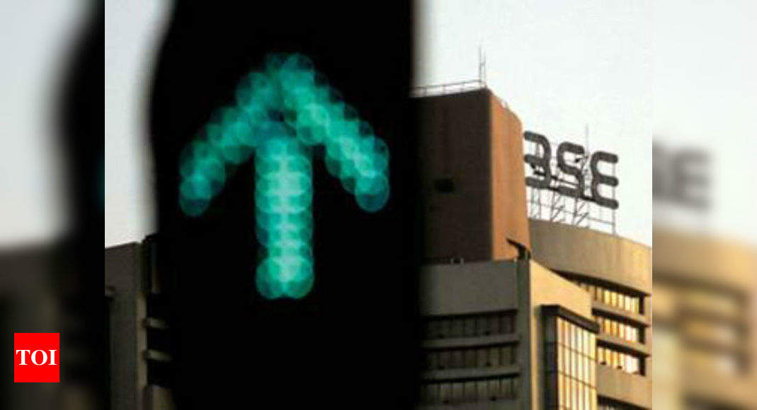 Sensex rises over 650 points, Nifty above 11,900 - Times of India thumbnail
