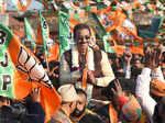 In pics: BJP intensifies poll campaign in Delhi