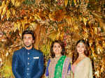 Armaan Jain and Anissa Malhotra's wedding reception pictures
