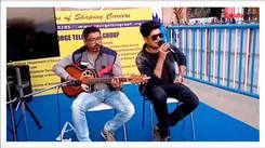 Bangla band Kaya performing at the Kolkata International Book Fair