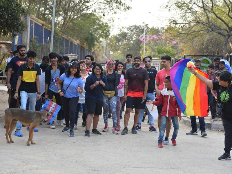 Hyderabad's LGBTQIA+ community and allies get together for a marathon run