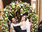 Balu Varghese ties the knot with ladylove Aileena Catherin in a starry ceremony