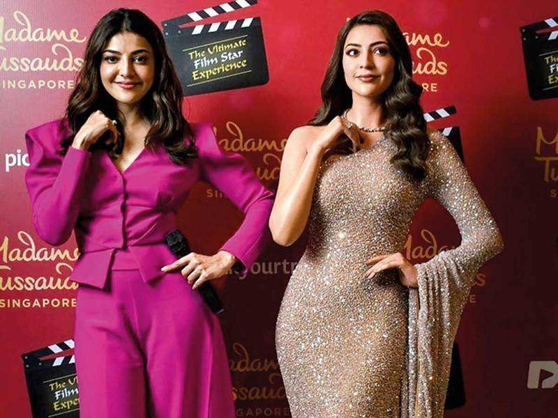 Kajal Aggarwal Kajal Aggarwal Unveils Her Other Half In Singapore Events Movie News Times Of India