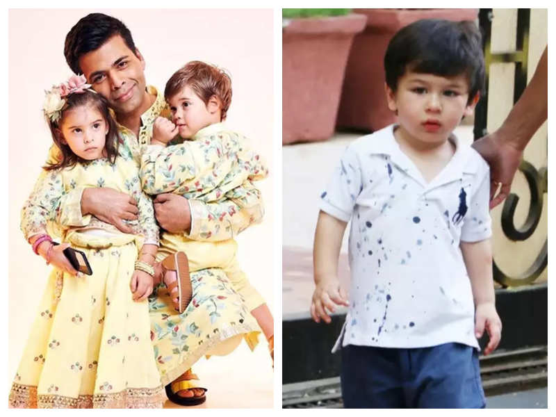 You just cannot miss Taimur Ali Khan dancing in this video from Roohi and Yash Johar's pre-birthday bash