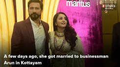Actress Bhamaa's wedding reception in Kochi