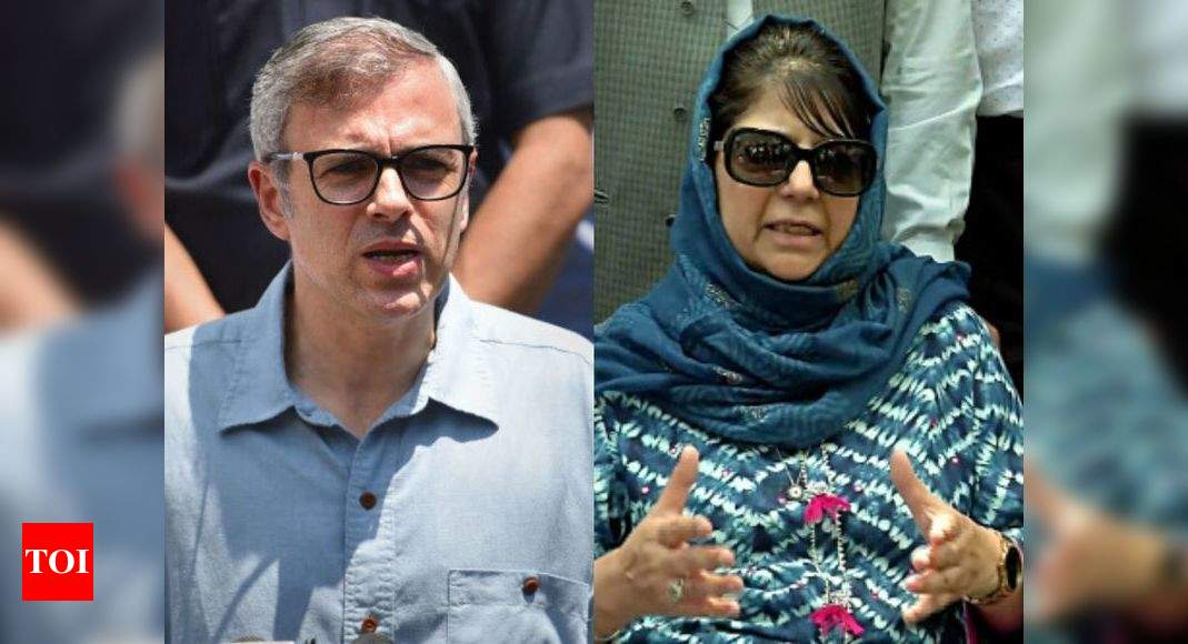 After 6 months' detention, Omar Abdullah, Mehbooba Mufti booked under Public Safety Act