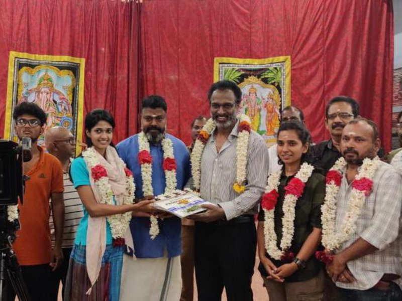 Arun Pandian and daughter Keerthi in Tamil remake of 'Helen'
