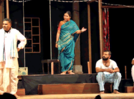 Play 'Garbh' staged at State-level Amateur Marathi Drama Competition