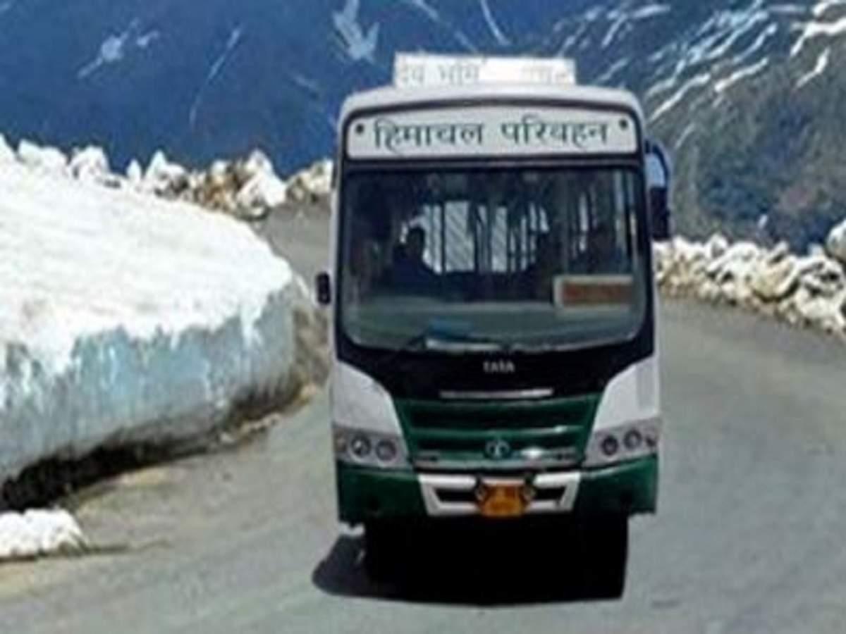 लेह-दिल्ली रूट पर एक जुलाई से दौड़ेगी एचआरटीसी की बस