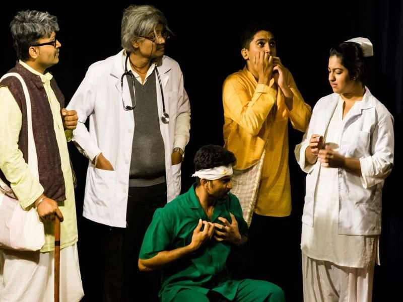 A comedy play about a famous writer