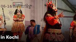 Yakshaganam performance in Kochi