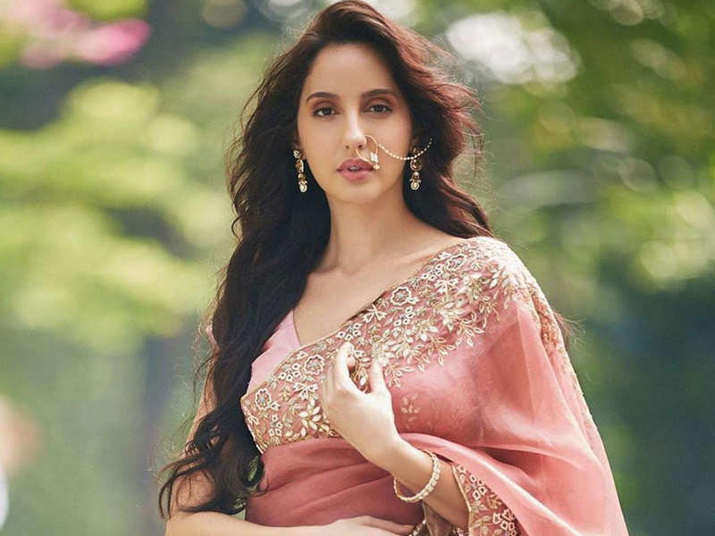 Nora Fatehi looks like a long lost princes from the fairy tales in the latest picture