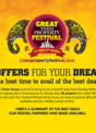 It's raining deals at the GREAT TIMES PROPERTY FESTIVAL