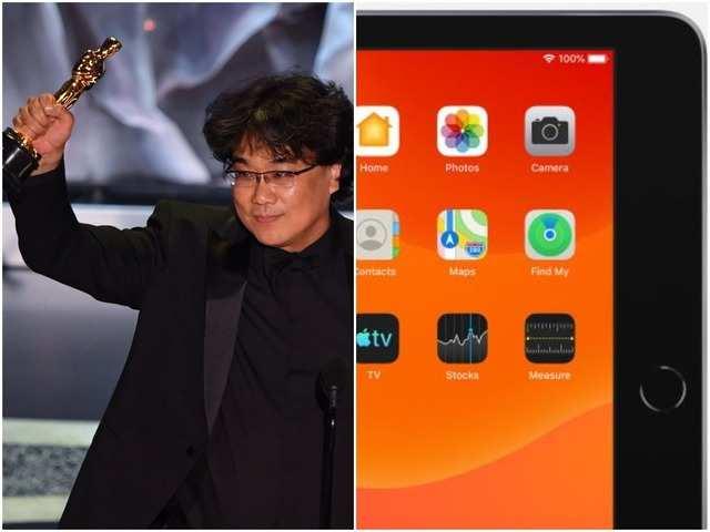 Oscar-winning director's iPad holds these 'secrets'