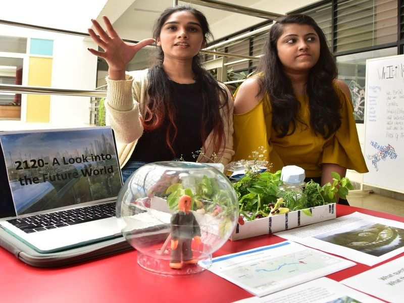 Bengaluru students travel into the future in bubble pods; voice gender issues through poetry