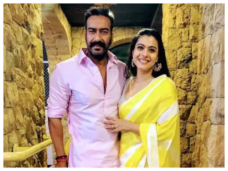 Kajol says Ajay Devgn has three versions of him and she married all three of them!