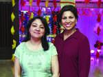 Sonali Kanaujia and Shweta Singhal