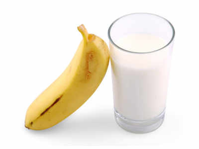Is mixing banana and milk good for your health?