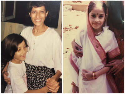 Throwback: Cute childhood clicks of Nushrat