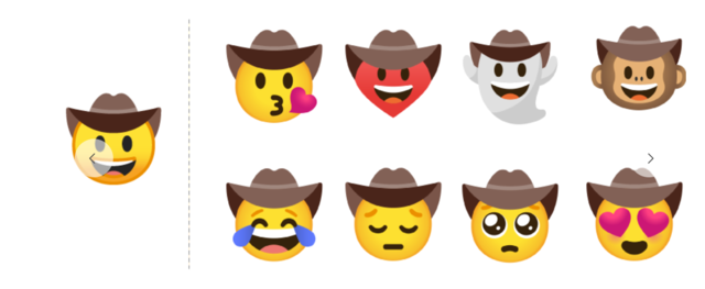 Gboard on Android gets emoji mashup stickers