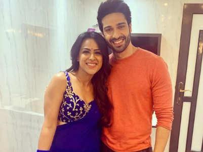 Nia-Vijayendra celebrate V- Day on set