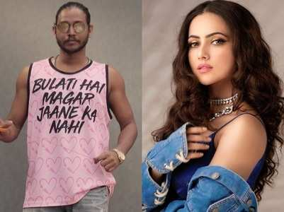 Melvin reacts to Sana Khan's accusations