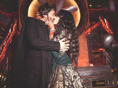 Kamya shares a kiss with Shalabh Dang