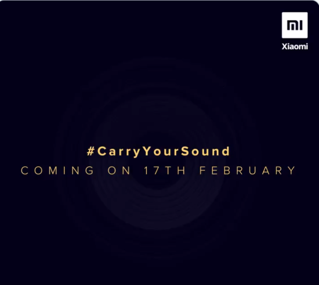 Xiaomi India to launch new audio product on February 17
