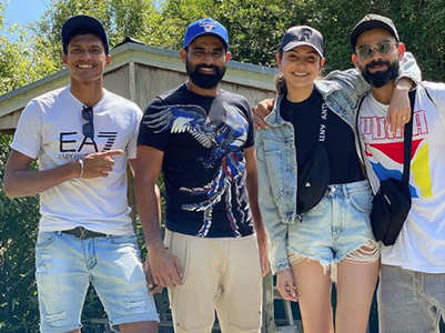 Pics:Anushka & Virat spend quality time in NZ