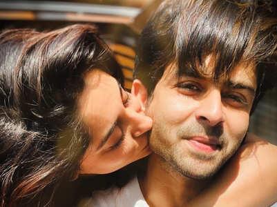 Dipika and Shoaib celebrate Kiss Day