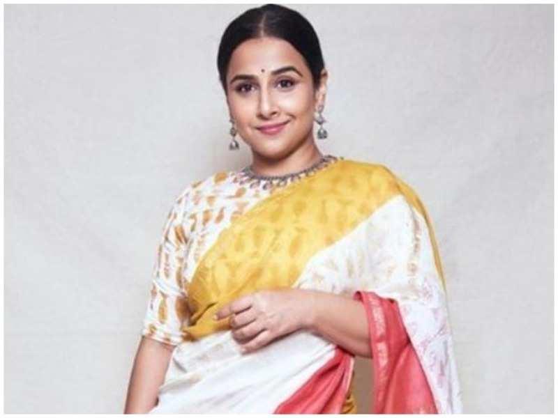 Look, what Vidya Balan wore to her college