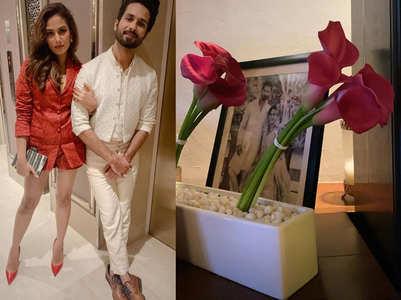 Mira celebrates Valentine's Day with Shahid