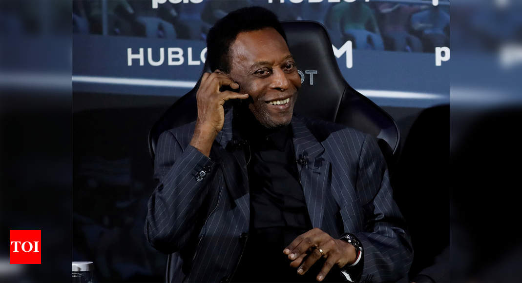 Pele says he's 'fine,' after son spoke of depression - Times of India