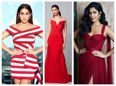 V-day: Sara to DP, divas sizzle in red