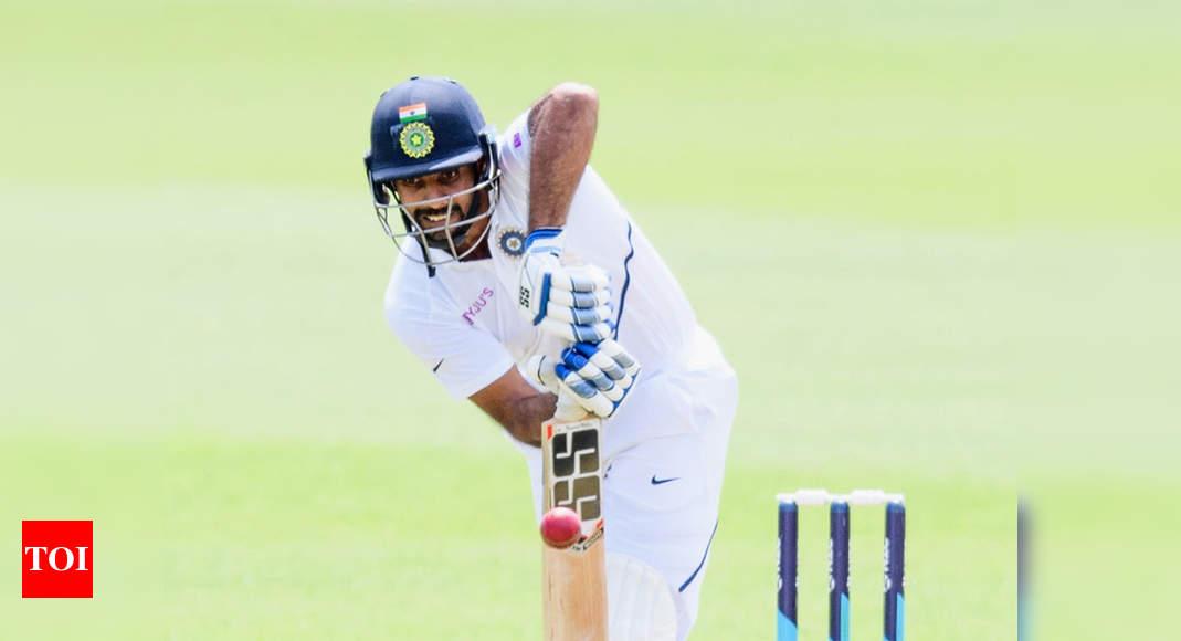 Hanuma Vihari hits ton as India score 263 against New Zealand XI on Day 1 of warm-up game