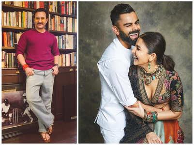 Saif: Anushka and Virat are acing at marriage
