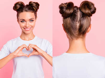 Last minute hair style ideas for your Valentine's Day date tonight!