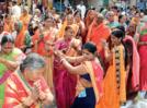 Sant Narhari Maharaj anniversary observed over bhajans and songs
