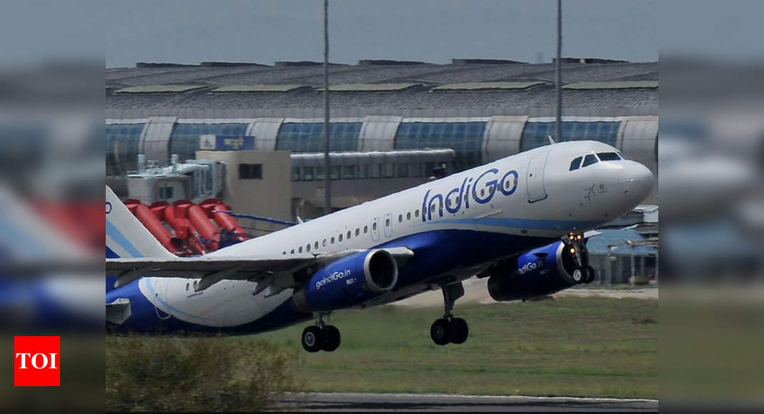 Promise me you'll never run away from my runway: Delhi Airport's message to IndiGo on V-Day - Times of India