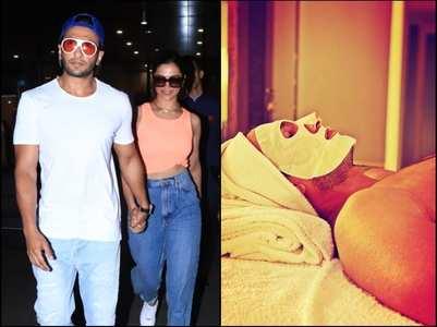 Pic: Deepika calls Ranveer 'Cleopatra'