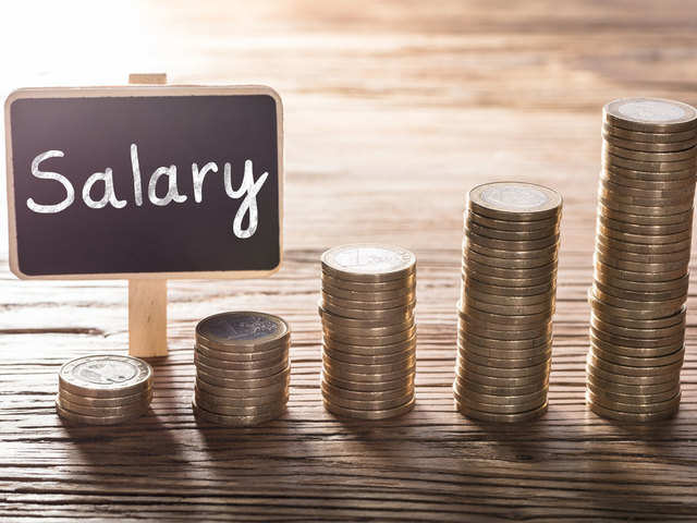 This is the average salary of employees working with Indian IT companies in the US