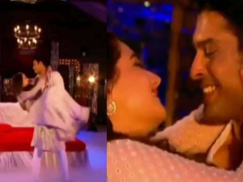 Bigg Boss 13: Sidharth Shukla and Rashami Desai perform on a sensuous song, watch