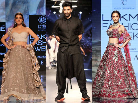 Lakme Fashion Week Day 3: Some stunning collection, colours and celebrities