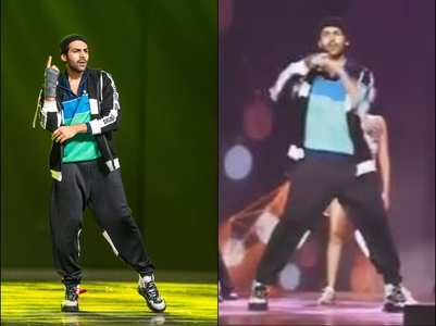 Filmfare Awards: Kartik's pungi dance - watch