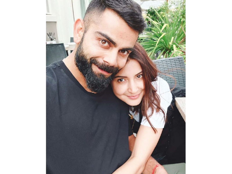 Virat Kohli shares a cosy picture with wife Anushka Sharma and it is all things adorable