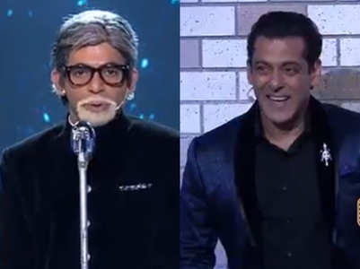 Sunil Grover's fake Amitabh Bachchan act