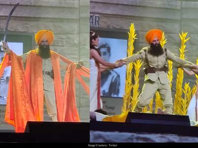 Video: Akshay performs on 'Bala' at Filmfare