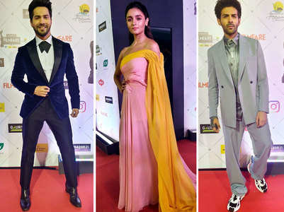 Filmfare 2020: Varun, Alia grace the red carpet